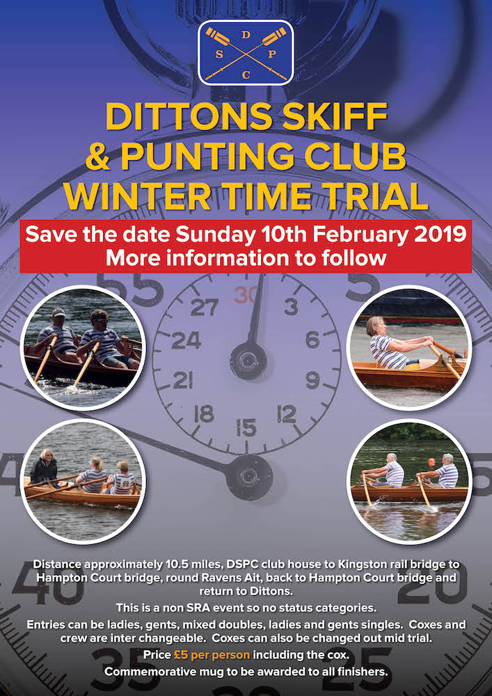 Dittons Skiff & Punt Club Winter Time Trial